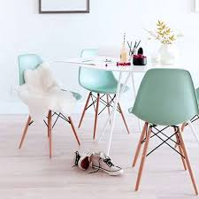 Eames Style Dining Chairs In Soft Pastel Colours ~ Fresh ...