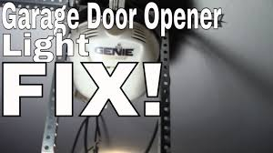 chamberlain garage door opener fixchange the light bulb in your