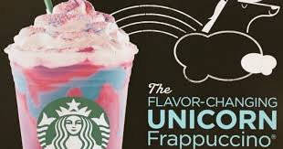 Starbucks Is Releasing A Limited Time Fun Drink Its The Flavor Changing Unicorn Frappuccino This Will Be Available From April 19 24th