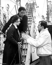 Kitchen Sink Films 1950s by Rita Tushingham And Paul Danquah Take Direction From Tony