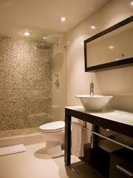 spaces shower with pebble tiles design pictures remodel decor