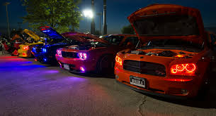 Different Colors for Car Lighting