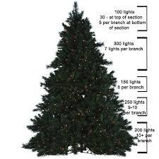 PRE LIT CHRISTMAS TREE LIGHTS