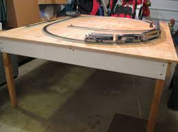 building plans train table pdf woodworking