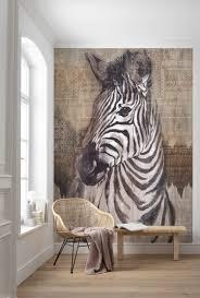 digital wallpaper zebra tapeten fototapete