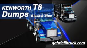 100 Gabrielli Trucks Kenworth T800 Dump For Sale YouTube