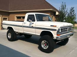 100 71 Ford Truck Lifted S Matts Cool Things Trucks Trucks