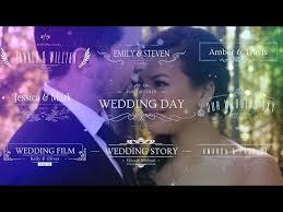WEDDING TITLES INTRO FREE