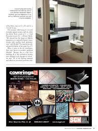 Durock Tile Membrane Canada by Tile Magazine Bnpmedia March April 2014 Issue Features An Elegant M U2026