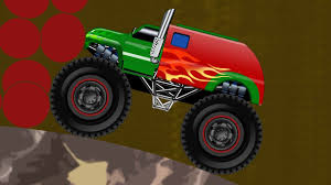 Monster Truck Stunts | Videos For Kids | Cartoons Videos And Games ...