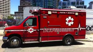 Here's Taco-Mergency, The Fake Taco Ambulance Food Truck - Eater