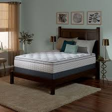 Serta Perfect Sleeper Air Mattress With Headboard by Serta Perfect Sleeper Wynstone Ii Cushion Firm Eurotop Twin