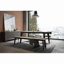 Space Saving Dining Set Luxury Amsterdam Steel Concrete Table Amp Reviews