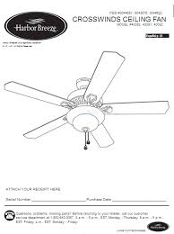 My Harbor Breeze Ceiling Fan Stopped Working by Harbor Breeze Ceiling Fan Manuals Harbor Breeze Outlet
