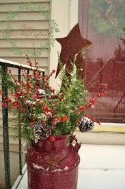 Comfy Rustic Outdoor Christmas Decor Ideas