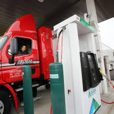 100 Roehl Trucking Transport Celebrates Opening Of CNG Station