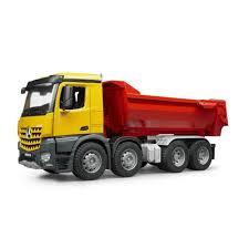 100 Bruder Trucks MB Arocs Half Pipe Dump Truck Jadrem Toys