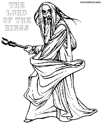Lord Of The Rings Coloring Pages To Download