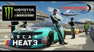 NASCAR Heat 3 Setup - Richmond Setup (Monster Energy Series) - YouTube