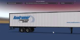 Roadruner Trailer Skin (2) - American Truck Simulator Mod   ATS Mod Hogan Trucking In Missouri Celebrates 100th Anniversary Roadrunner Expands Ltl Trucking Network Western Us Transportation Systems Flickr Relm Kft Thebigbadions Great European Adventure Page 62 Scs Software Trucker Shares Tumble On Steep Profit Decline Wsj Still Going Strong 104 Magazine Drop Earnings Restatements Primus Solutions Llc Shipprimus Twitter Trucks On American Inrstates Tow Towing Hauling Baton Rouge Port Allen La