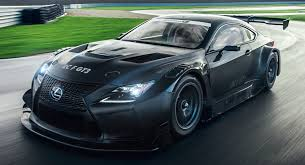 Lexus RC F GT3 Reminds Us How Awesome Racing Cars Look All In Black