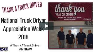 National Truck Driver Appreciation Week 2018 On Vimeo Thoughts On 2017 Truck Driver Appreciation Week National Ats Game American Roadmaster Drivers School Kroger Recognizes Those Who Deliver The Goods During Opinion Taking Time For Transport Topics 2018 Vimeo Landstar Celebrating Eagle Logistical Ldown Mods 2014 Feature Interview