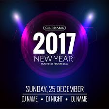 Download New Year Party Design Banner Event Celebration Flyer Template Festive Poster