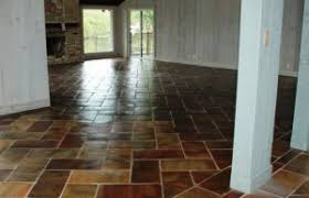 Saltillo Tile Cleaning Los Angeles by Saltillo Tile In Living Room And Bedroom Floors Westside Tile