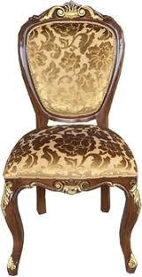 casa padrino barock luxus esszimmer stuhl gold muster braun gold antik look luxus hotel möbel made in italy