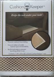 Walmart Gripper Chair Pads by Amazon Com Cushion Stay Non Slip Rubber Underlay Keep Cushions