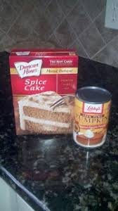 Libbys Pumpkin Muffins Cake Mix by Easy Pumpkin Muffins 1 Box Spice Cake 1 Can Pumpkin 3 4 C