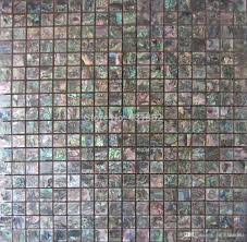 großhandel 2 stück grüne abalone shell mosaik fliesen keramikfliesen für badezimmer mosaikfliesen grün grüne abalone mosaik keramik backsplash
