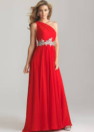 moves 6758 red one shoulder evening gown prom dresses 2013
