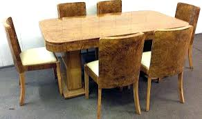 Art Dining Table Set By Harry For Sale Deco And Chairs Uk