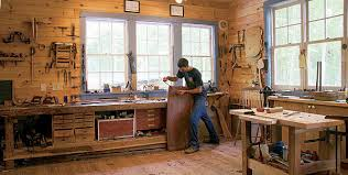 Synopsis Eliz Bizzarris Freestanding Shop Has Everything He Wants Plus Can Be Converted To A Garage If Future Owners Dont Need It For Woodworking