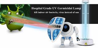portable uvc 254nm germicidal l for indoor air disinfection