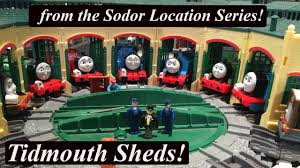 Tidmouth Sheds Wooden Ebay by Thomas And Friends Trackmaster Sodor Location Tidmouth Sheds