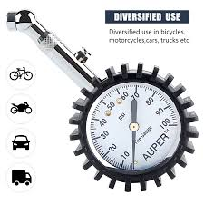 Tire Pressure Gauge, Auper High Accuracy Tire Gauges Heavy Duty Air ... Amazoncom Accutire Ms5515b Truck And Rv Digital Tire Gauge With Truckrv Dual Head Walmartcom Dynatex Tyre Pssure Inflator Air Gun Compressor Dial 14 Haltec Gaugebrass11 In L 48wc36ga1351 Grainger Tiretek Truckpro Heavy Tread Depth Metric Standard Measures Tester 254mm Car Suv 0100 Psi Right Angle Chuck Fixm Portable 150psi Gauges Tires Care The Home Depot Lcd Tool Motorcycle Using A Wear On Stock Photo Picture And Professional