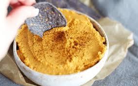 Pumpkin Hummus Recipe Without Tahini by Easy Healthy Pumpkin Hummus Vegan Grain Free One Green Planet