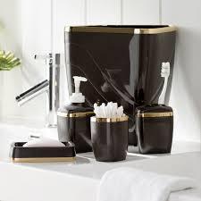 Burgundy Star Bathroom Accessories by Wayfair Basics Wayfair Basics 5 Piece Bathroom Accessory Set
