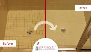 sealing shower tiles grout sealing revitalizes shower for new