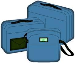 Travel Bags Blue
