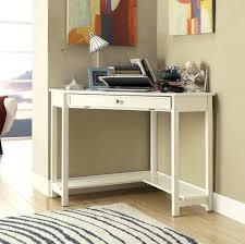 Small White Corner Computer Desk Uk by Computer Desks Computer Desk With Shelves White Corner Return