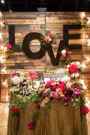 Reclaimed Barn Wood Wall Monogram Letters Rustic Wedding Decor I Love The Word