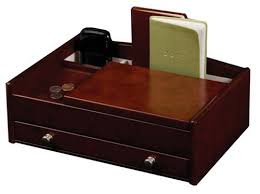 mens leather dresser valet mens dresser top valet jewelry box and accessories organizer