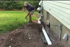 2018 drainage installation costs add or replace a drain line