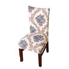 Vonty Floral Printed Dining Chair Cover Stretch Removable Chair Slipcover  Protector 1 Piece, Blue Flower Chair Upholstered Floral Design Ding Room Pattern White Green Blue Amazoncom Knit Spandex Stretch 30 Best Decorating Ideas Pictures Of Fall Table Decor In Shades For A Traditional Dihou Prting Covers Elastic Cover For Wedding Office Banquet Housse De Chaise Peacewish European Style Kitchen Cushions 8pcs Print Set Four Seasons Universal Washable Dustproof Seat Protector Slipcover Home Party Hotel 40 Designer Rooms Hlw Arbonni Fabric Modern Parson Chairs Wooden Ding Table And Chairs Room With Blue Floral 15 Awesome To Enjoy Your Meal