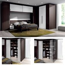 placard chambre adulte composition ensemble dressing lit pont armoire de coin d270