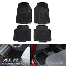 Shipping From US 4PCS Car Truck Suv Van Custom Pvc Rubber Floor Mats ...