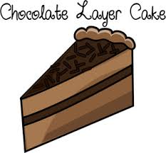 Chocolate Cake clipart slice cake 5
